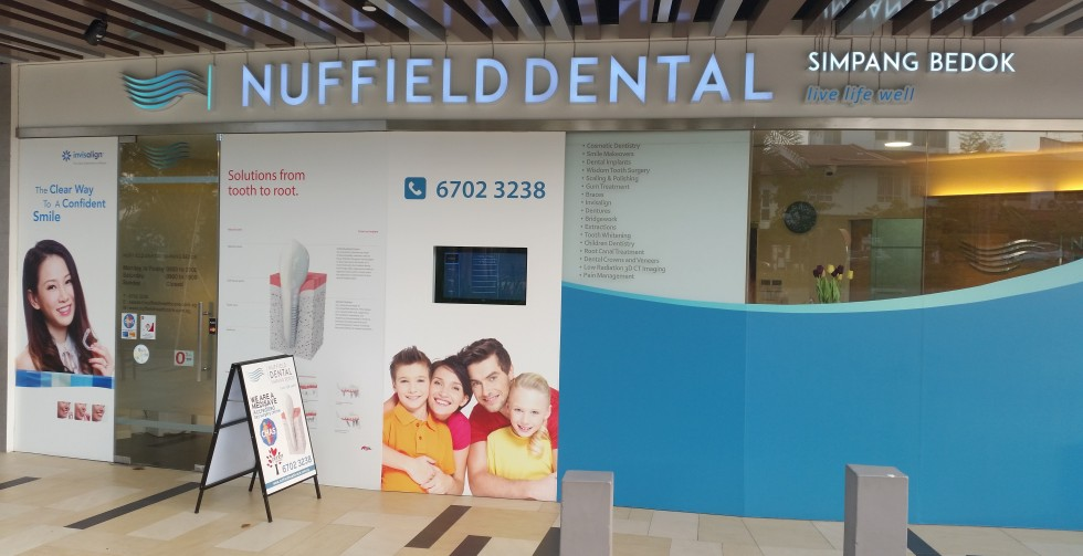 Nuffield Dental Frontage Photo